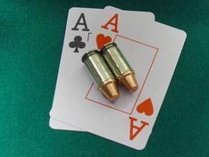 Bullets in Poker